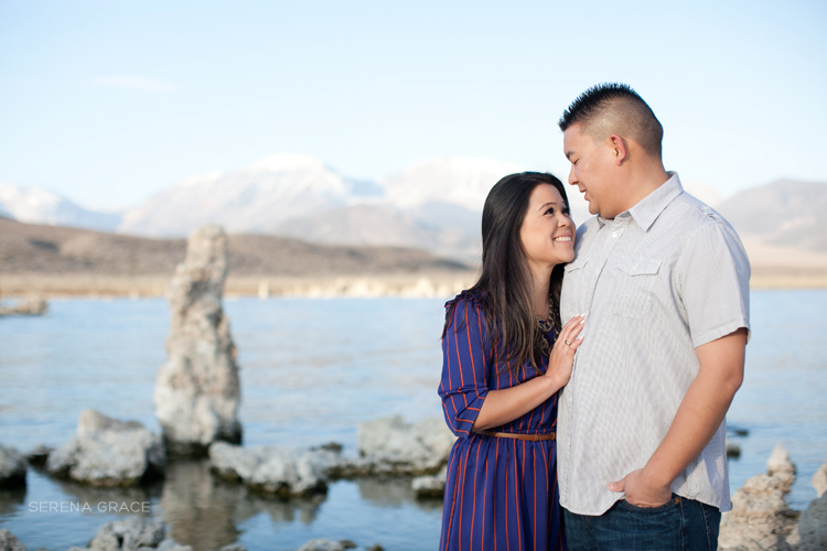 Mono Lake engagement