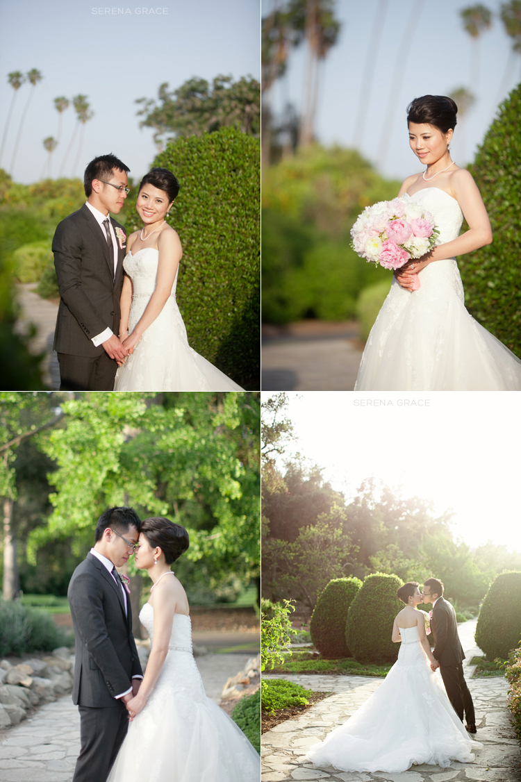 haruka felix los angeles arboretum wedding serena